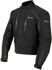 Weise Onyx GT Mens Black Waterproof Textile Motorcycle Jacket New RRP £199.99!!
