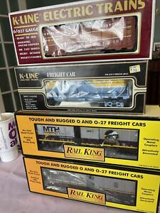 Mth & K Line Lot Of New Rolling Stock 4