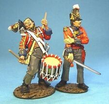 John Jenkins Designs BCH-07 War Of 1812 1st Royal Scots Drummer And Officer 1/30