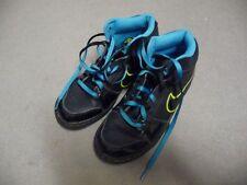 Nike Backboard 2 Turnschuhe Sportschuhe Schwarz Blau Neon Gr. 37 37,5 UK 4.5 Top