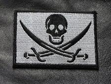 CALICO JACK JOLLY ROGER  PIRATE FLAG SKULL SWORDS ACU HOOK LOOP  PATCH