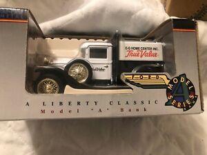 Liberty Classic Diecast E-G Home Center Inc True Value 1929 Ford Model A Bank