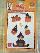 Vintage Halloween Witch Iron On Transfer by Dianna Marcum  2000 NOS