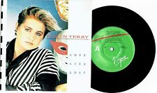 "HELEN TERRY - LOVE LIES LOST - 7"" 45 VINYL RECORD w PICT SLV - 1984"