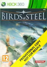 Microsoft Xbox 360 juego-Birds of Steel #promotional copy de/en con embalaje original