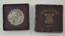 More details for 1951 festival of britain  crown - red box