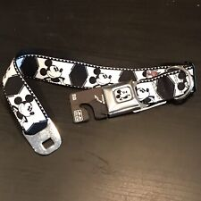 Buckledown Disney Mickey Mouse  Dog Collar 18-32 In XL XXL Car Seat Buckle