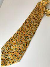 PAUL SMITH cravatta tie original 100% seta silk Made in England nuova new