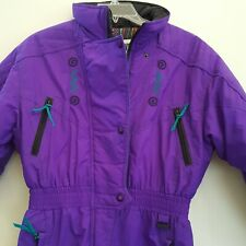 Edelweiss Skiwear Ski Suit Junior XL 14 16 Girls Snowboard 1 PC VTG 80s 90s