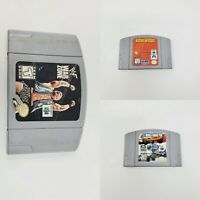 Nintendo 64 N64 F1 World Grand Prix WWF War Zone Mission Impossible Video Games
