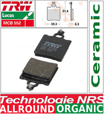 Plaquettes frein Arrière TRW MCB552 Organic Aprilia RS 50 Extrema, Replica 95-98