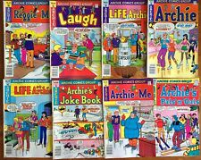 8 Archie Comics Bronze Age Life with  JOKE BOOK Betty Veronica JUGHEAD (Lot C55)