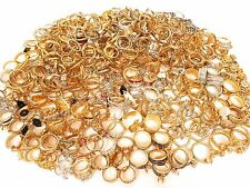Giant Jewelry Lot Terrific Vintage Rhinestone Repair Rings*500+ Missing Stones