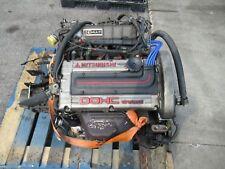 88 92 MITSUBISHI MIRAGE DODGE COLT 1.6L DOHC TURBO ENGINE FWD TRANS JDM 4G61