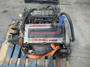 88 92 MITSUBISHI MIRAGE DODGE COLT 1.6L DOHC TURBO ENGINE JDM 4G61