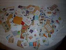 Lg.Lot of 230+ International Postage Stamp collection 1980's-2000 Free Shipping!