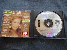 ++ DALIDA mon amour - CD 1989 - RARE ITALO DISCO 80s - CARRERE Made in FRANCE ++