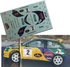 DECAL/CALCA 1/43; Seat Ibiza Kitcar; Ponce; Rally Maspalomas 1997