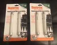 Skeeter Vac Bite Guard Replacement Ultra Violet Bulbs 4 Bulb Pack