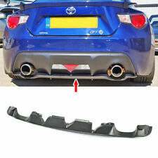 Painted For Subaru BRZ Scion FR-S TOYOTA FRS 86 Rear Bumper Lower Diffuser
