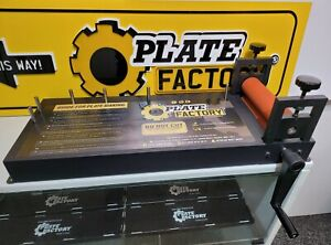 Heavy Duty Number Licence Plate Sign Making Laminator Jig Roller Board Brand New