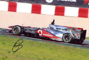 RACING DRIVER Lewis Hamilton F1 MERCEDES 2010 autograph, In-Person signed photo