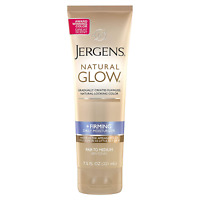 Jergens Natural Glow +FIRMING Daily Moisturizer for Body, Fair to Medium Skin