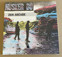 HUSKER DU!! ZEN ARCADE! 1989 PUNK ROCK VINYL LP!! SEALED!! NEVER OPENED!!
