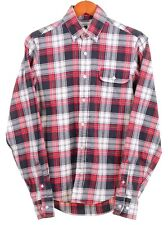 Gant x Michael Bastian Plaid Check BRUSHED Cotton Button Down Flannel Shirt S