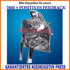 Klein Römischen Gladiator Helm Eisen Stahl dekorative Helm verchromt Tischplatte
