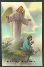 image pieuse del Angel Custodio santino holy card estampa