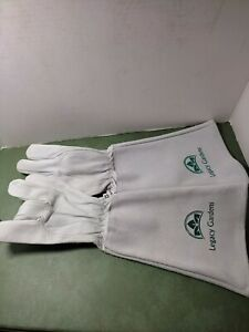 Legacy Gardens Leather gloves protection for sensitive skin