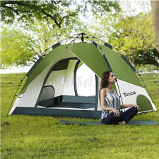 Camping Tent 4-5 Person Waterproof Automatic Tent Family Instant Hiking Outdoo
