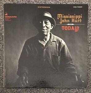 """MISSISSIPPI JOHN HURT - """"TODAY!"""" - Vanguard Stereolab VSD 79220 - *VG+/VG+*"""