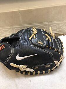 "Nike N1 Air 33.5"" Black Baseball Softball Catchers Mitt Right Hand Throw"
