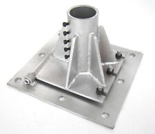 """74.5mm 2 1/2"""" Pole Tower Mounting Base Foundation for Wind Turbine Generator"""