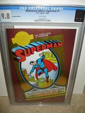 Superman #1 CGC 9.8 Millennium Edition! 2000 Reprint cm