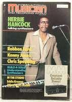 INTERNATIONAL MUSICIAN MAGAZINE HERBIE HANCOCK ROBBEN FORD KENNY JONES VERY RARE