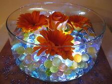 40 Confezioni Acqua Gel Perline Cristalli Sfere nozze floreale visualizzazione tabella centro.