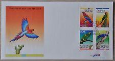 CARIBISCH NED. 2012  FDC 008 ++ PARROTS BIRDS OISEAU  ++  MNH POSTFRIS **