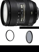 NIKON AF-S DX NIKKOR 16-85mm F3.5-5.6G ED VR Lens-WITH UV AND CPL FILTERS-