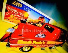 Nhra Chuck Poole 1:24 Diecast Wheelstander Vintage Drag Racing Chuckwagon Truck