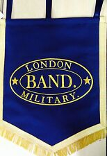 Music Stand Banner. Hand Embroidered (Custom Made) One Side Embroidery.