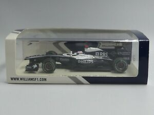 Spark 1:43 Rubens Barrichello Williams Cosworth FW32 F1 2010 Spanish GP S4030