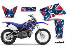 Dirt Bike Graphics Kit Decal Wrap For Yamaha TTR90 TTR90E 2000-2007 REBEL