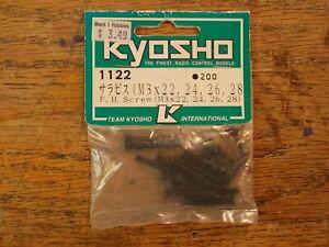 1122 F.H Screw (M3) 3mm Flush Head - Kyosho Vintage Hardware