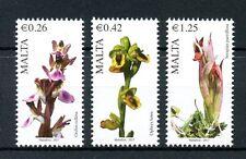 Malta 2017 MNH Maltese Flora Series IV 3v Set Orchids Flowers Stamps
