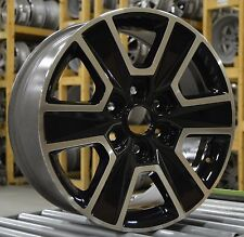 "18"" Ford F150 2015 2016 2017 Factory OEM Rim Wheel 3997 Gloss Black Set"