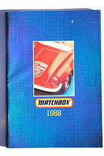 MATCHBOX 1988 catalogue avec tous les célèbres MATCHBOX Models 88 pages