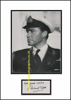 Richard Todd D Day Longest Day Crossbow The Dam Busters Autograph UACC RD96